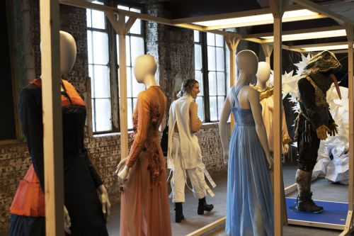 Mannequins at the exhibition