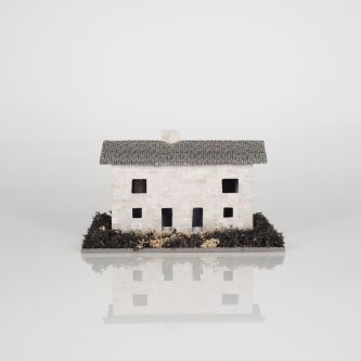 Photo of a small model house