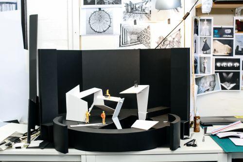 White model made by Laura Rocha Arroya