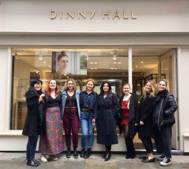 Fashion Visual Merchandising visit to Dinny Hall