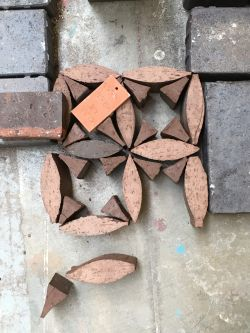 Bricks in arrangement