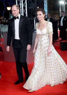 Duke and Duchess of Cambridge on catwalk