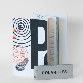 Front-cover shot of publication Polarities.