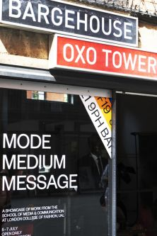 Outside Bargehouse Oxo Tower