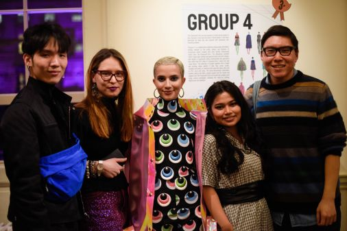 colourful garments inspired by the powerpuff girls and student winners