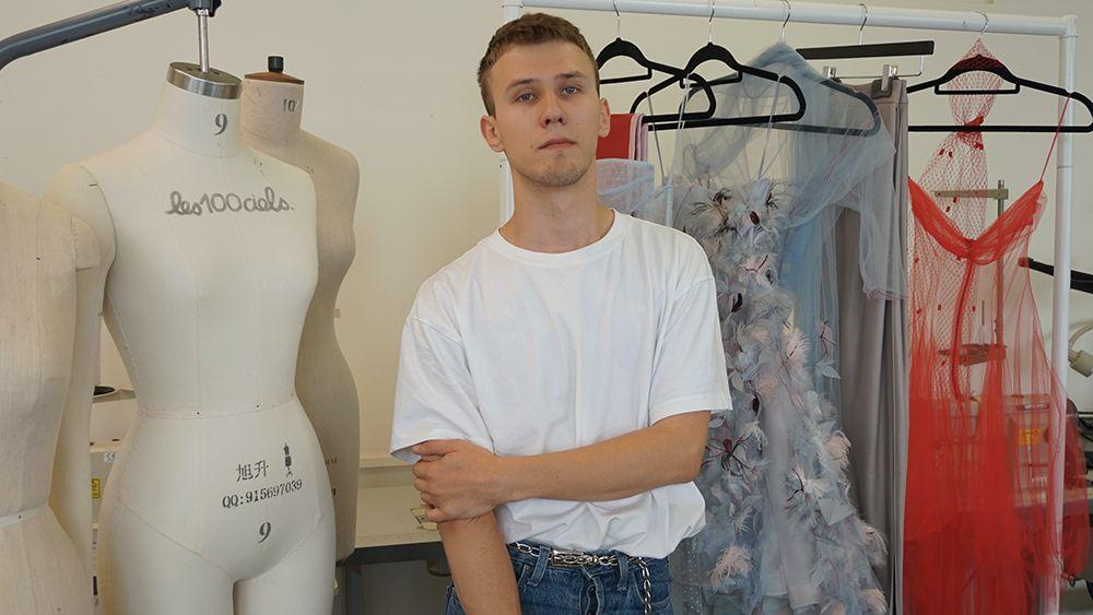 MA Fashion Design Technology Womenswear student Dmitry Gotsfrid won a Georgio Armani competition.