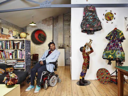 artist yinka shonibare welcomes INIVA UAL collaboration