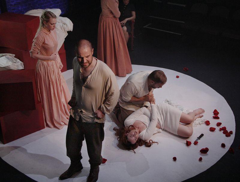 Bettina John's design for 'The Rape of Lucretia' at The Arcola Theatre