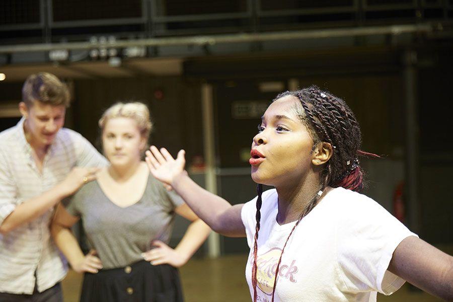BA Acting and Performance, Wimbledon College of Arts, pic credit Arnhel de Serra