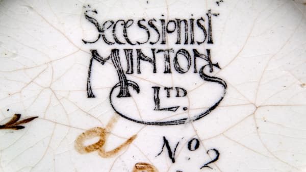 The Democratic Dish: Mintons Secessionist Ware