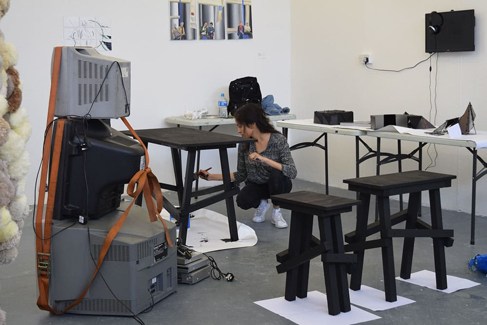 7 DAYS LATER: Looking back at undergraduate Design's show build