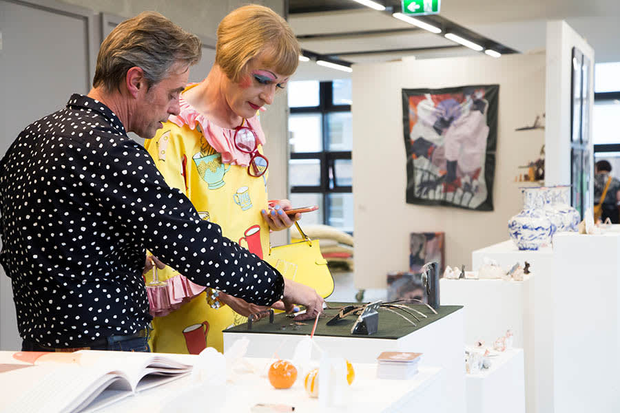 Thousands flock to the opening of Camberwell's 2018 degree show