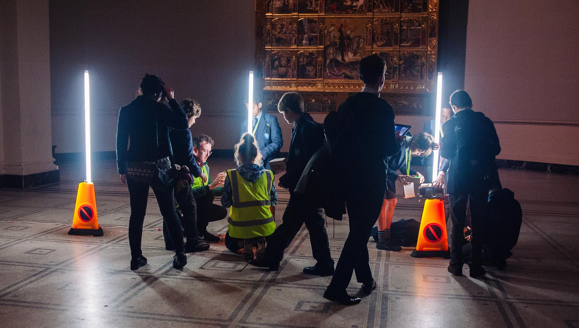 BA Interior and Spatial Design students create 'floating city' at London's Victoria and Albert Museum