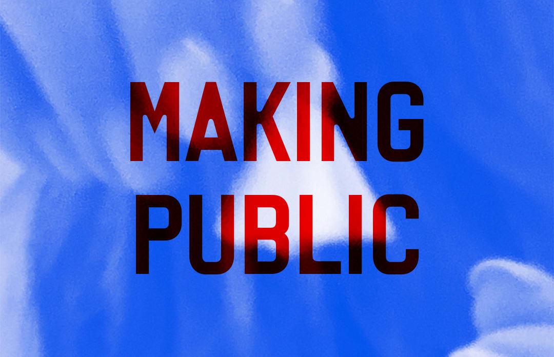 Creative Unions: Making Public