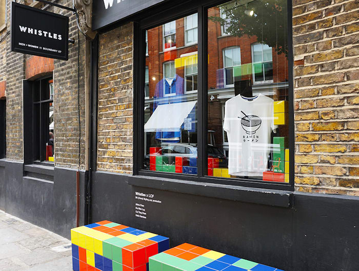 Step inside the Whistles store takeover by Fashion Styling and Production students