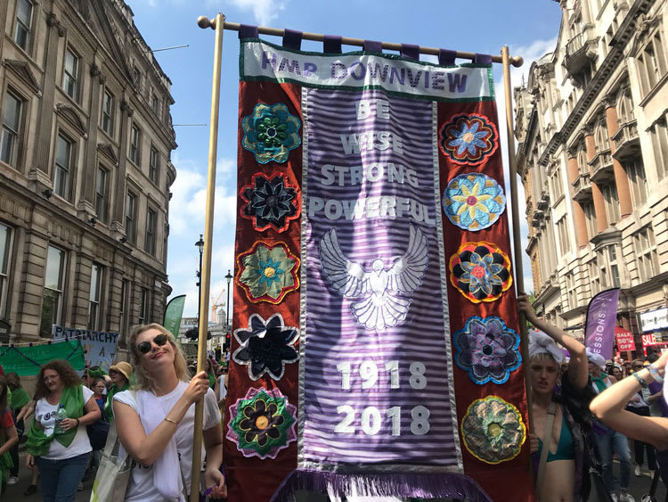 Procession Banners go on display in Birmingham