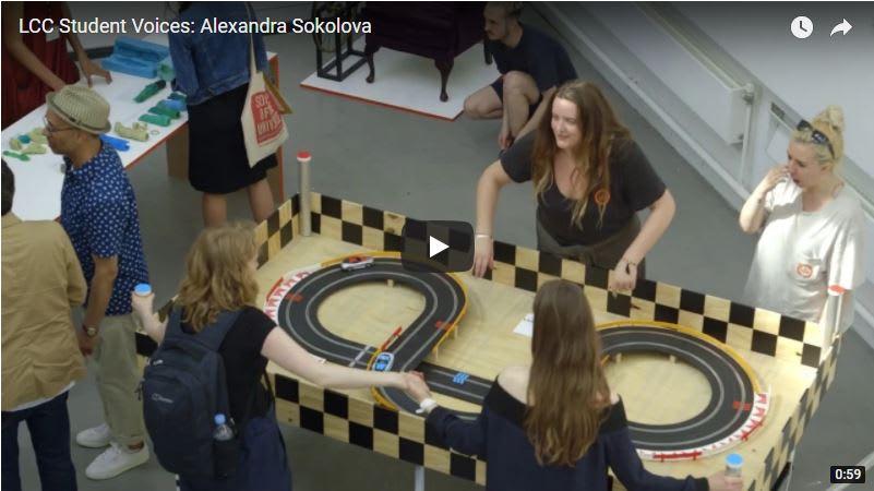 Student Voices: Alexandra Sokolova – BA (Hons) Interaction Design Arts