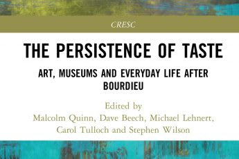 The Persistence of Taste, May 2018 Routledge