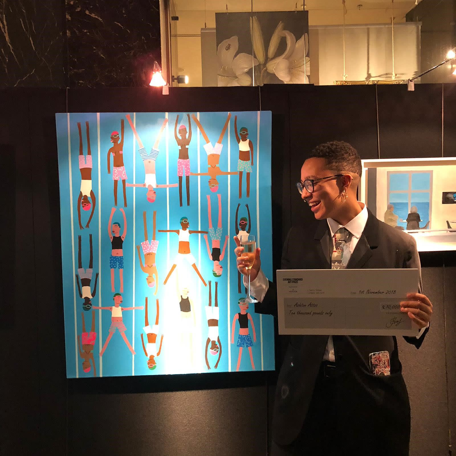CSM student takes The Evening Standard Art Prize with 'Don't Stay In Ya Lane'