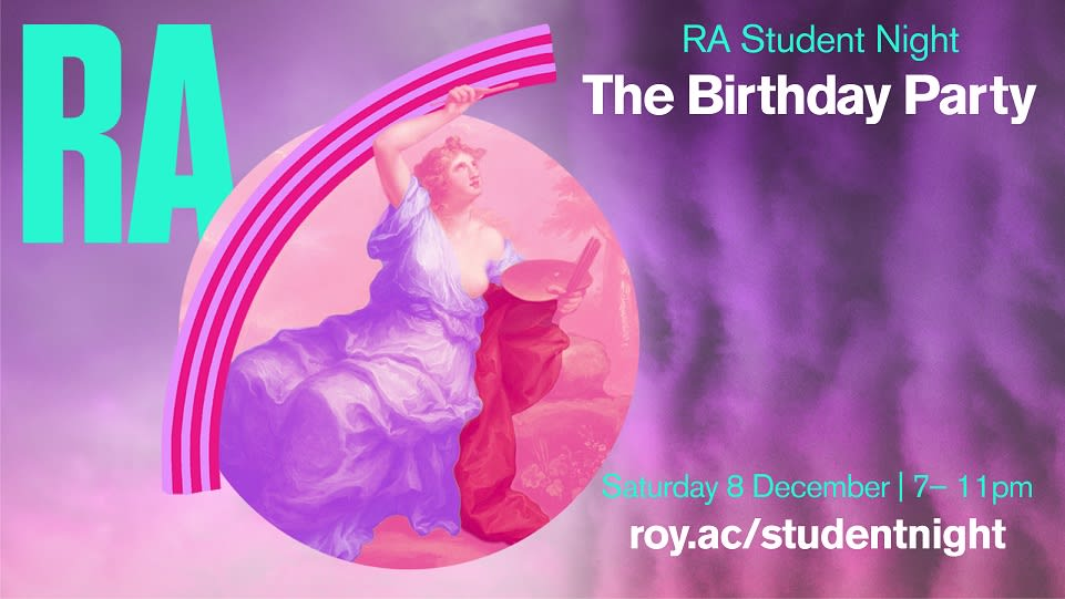 UAL student takeover for RA 250th anniversary