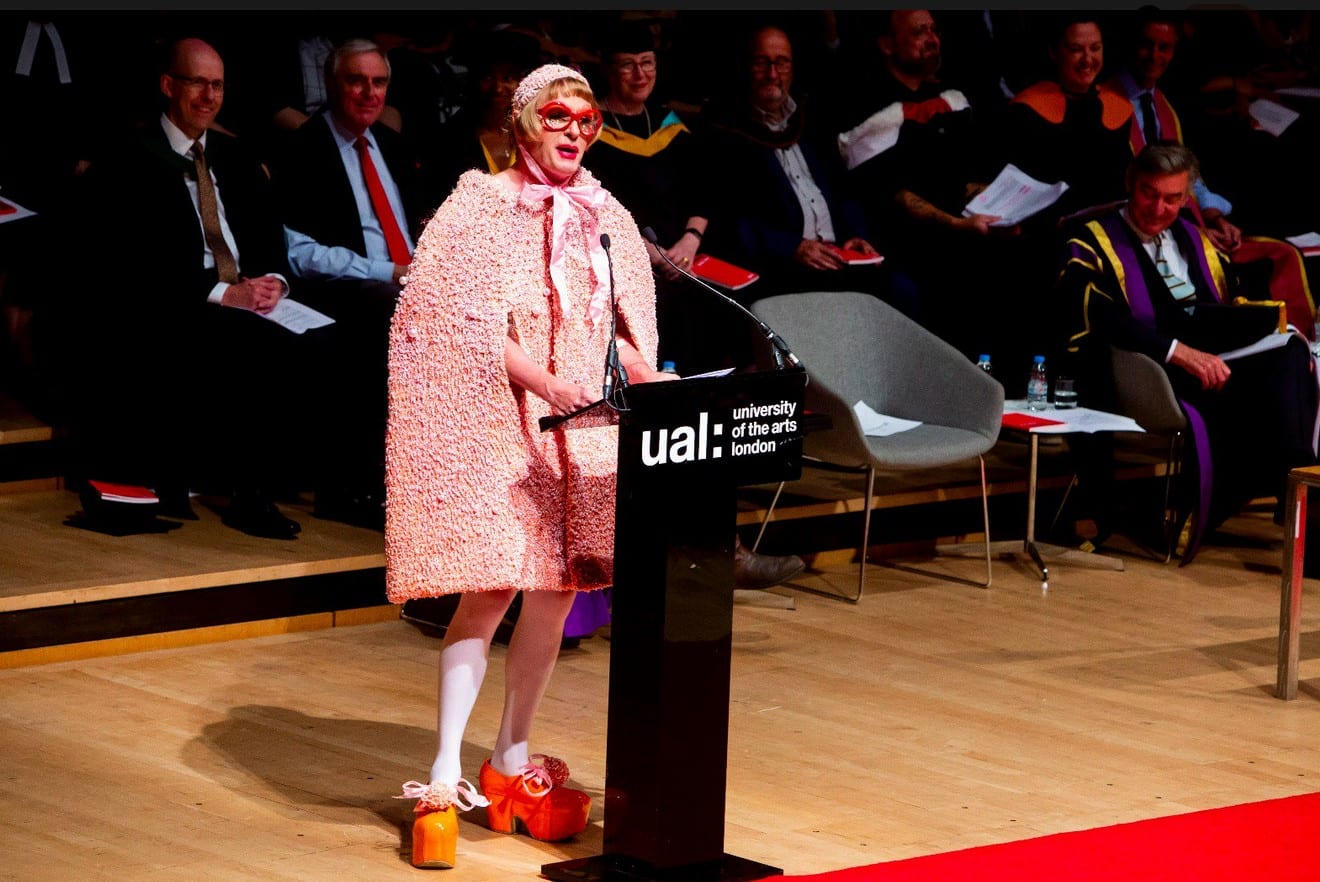 Iconic Grayson Perry reappointed as UAL Chancellor