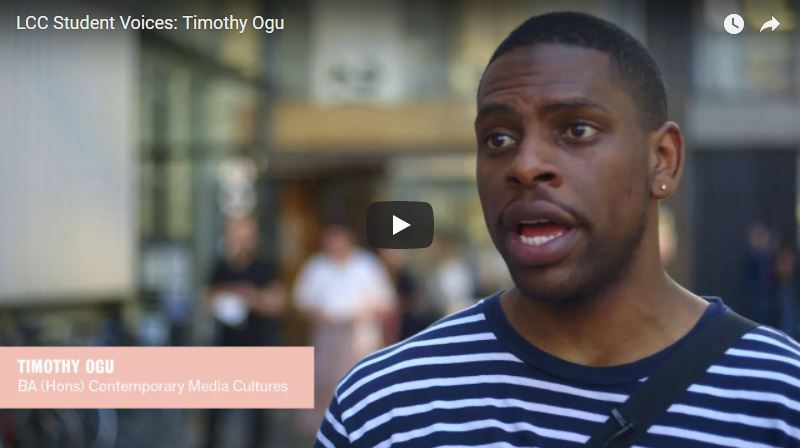 Student Voices: Timothy Ogu