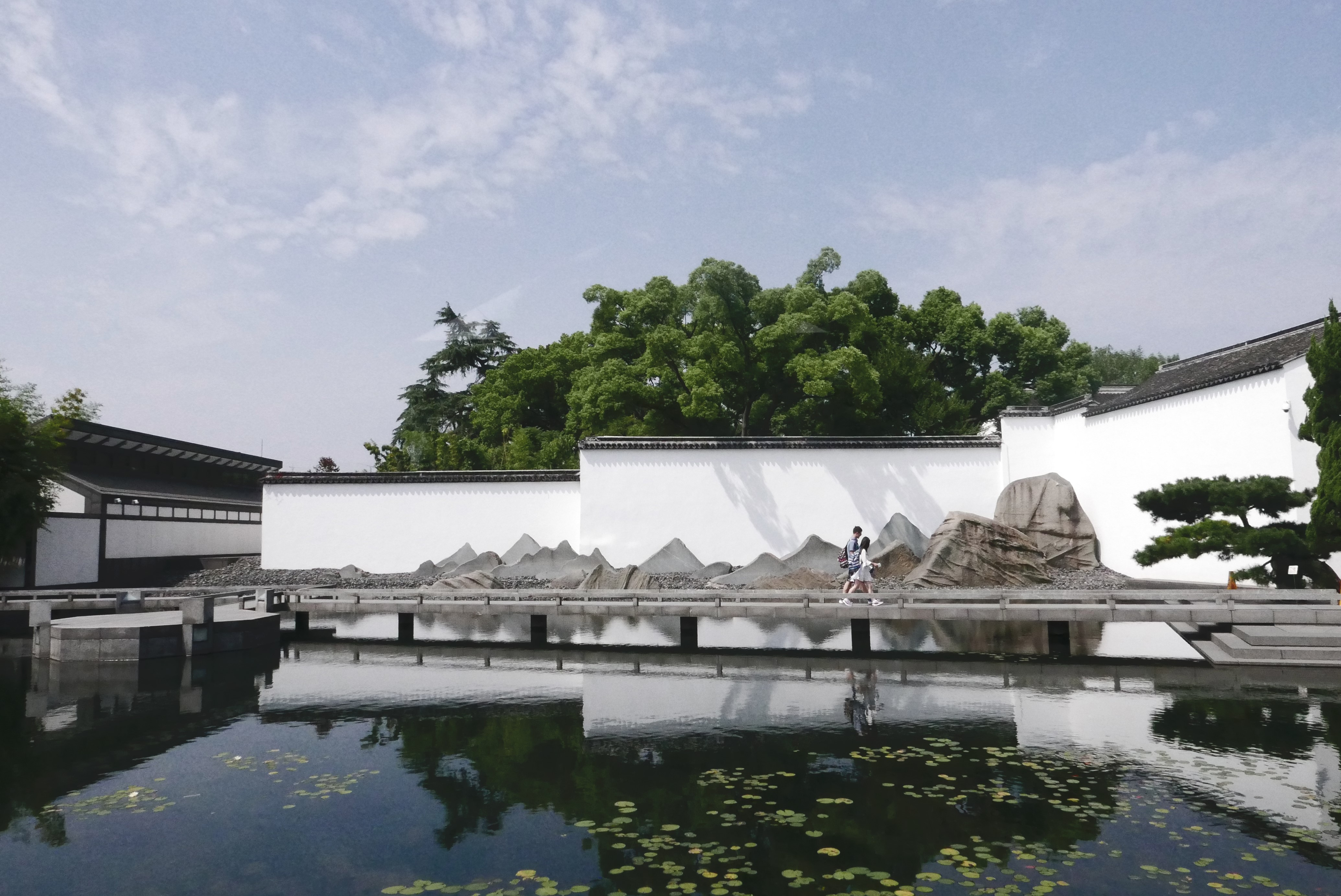 Suzhou Museum, architecture of renowned I.M Pei, photo taken by Charles Britton