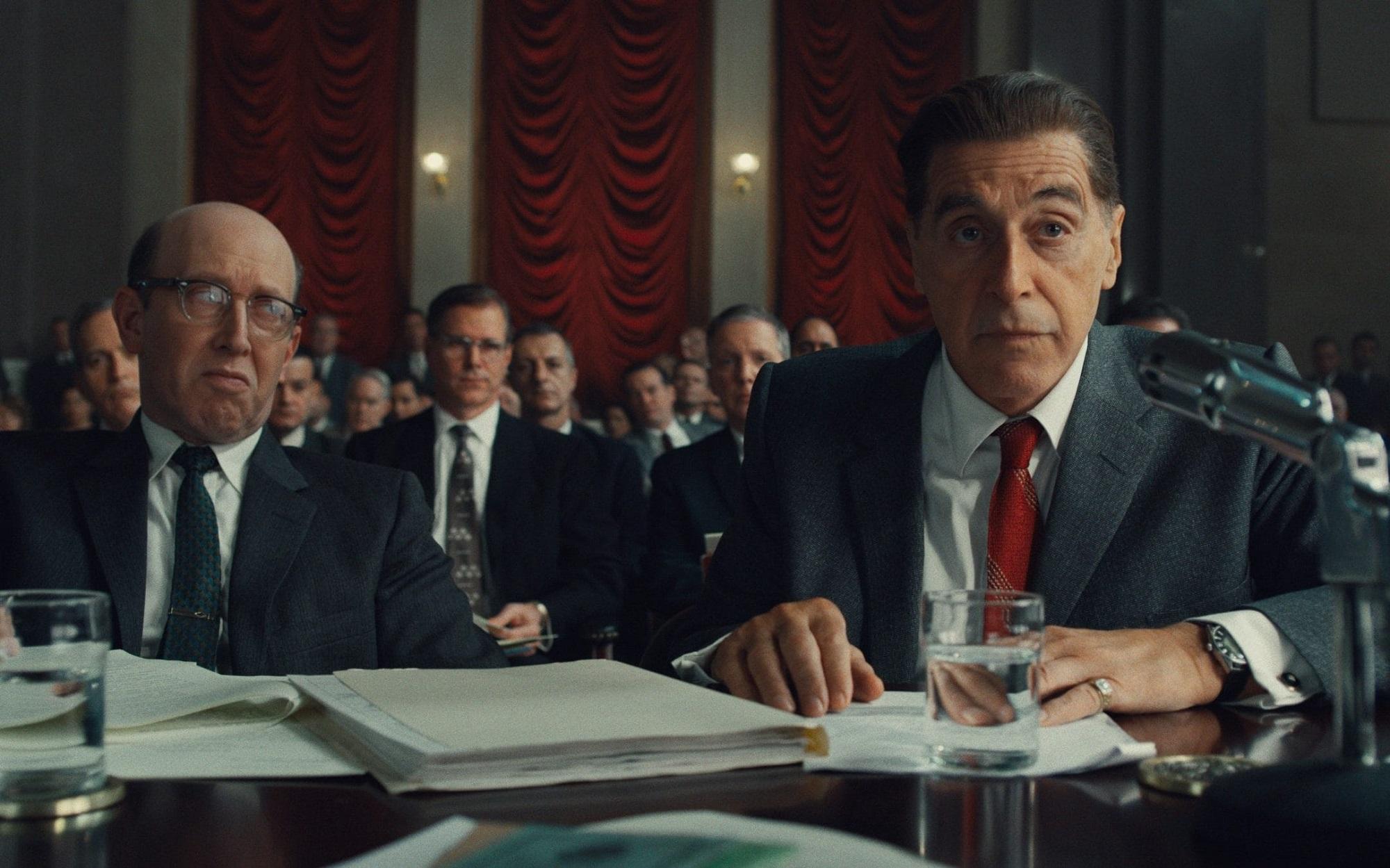 A still from the film The Irishman