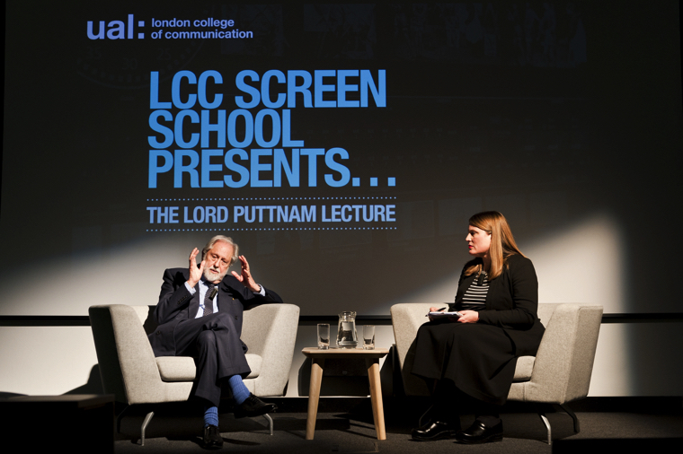 Lord Puttnam launches LCC Screen School