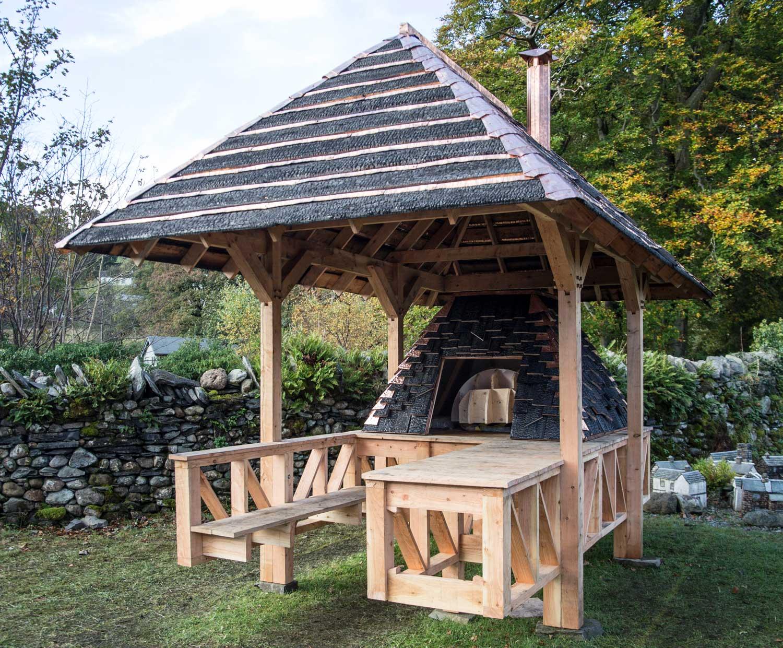 Hayatsu Architects & Central Saint Martins, Community Bread Oven, Coniston