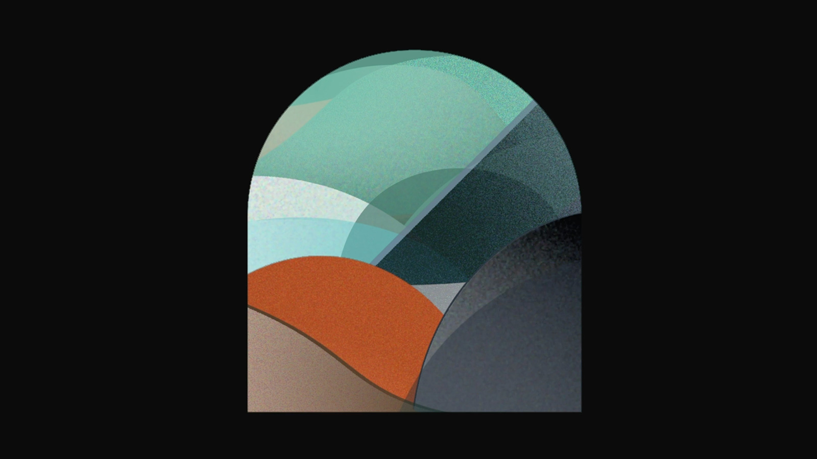 A range of colourful abstract shapes.