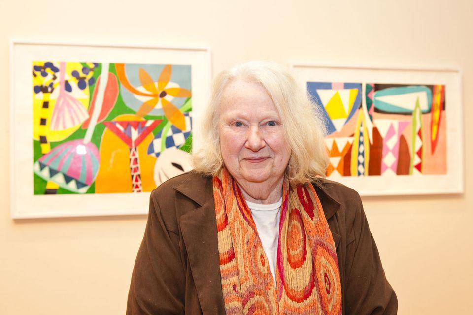 Gillian Ayres, Victoria Art Gallery, Bath 2012, image courtesy of Alan Christea Gallery