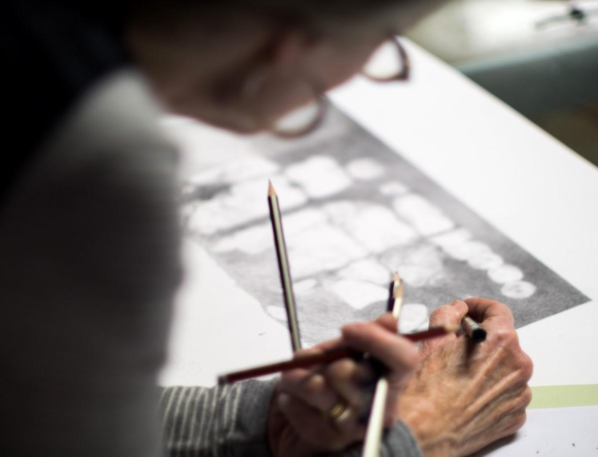 Janine Hall Drawing