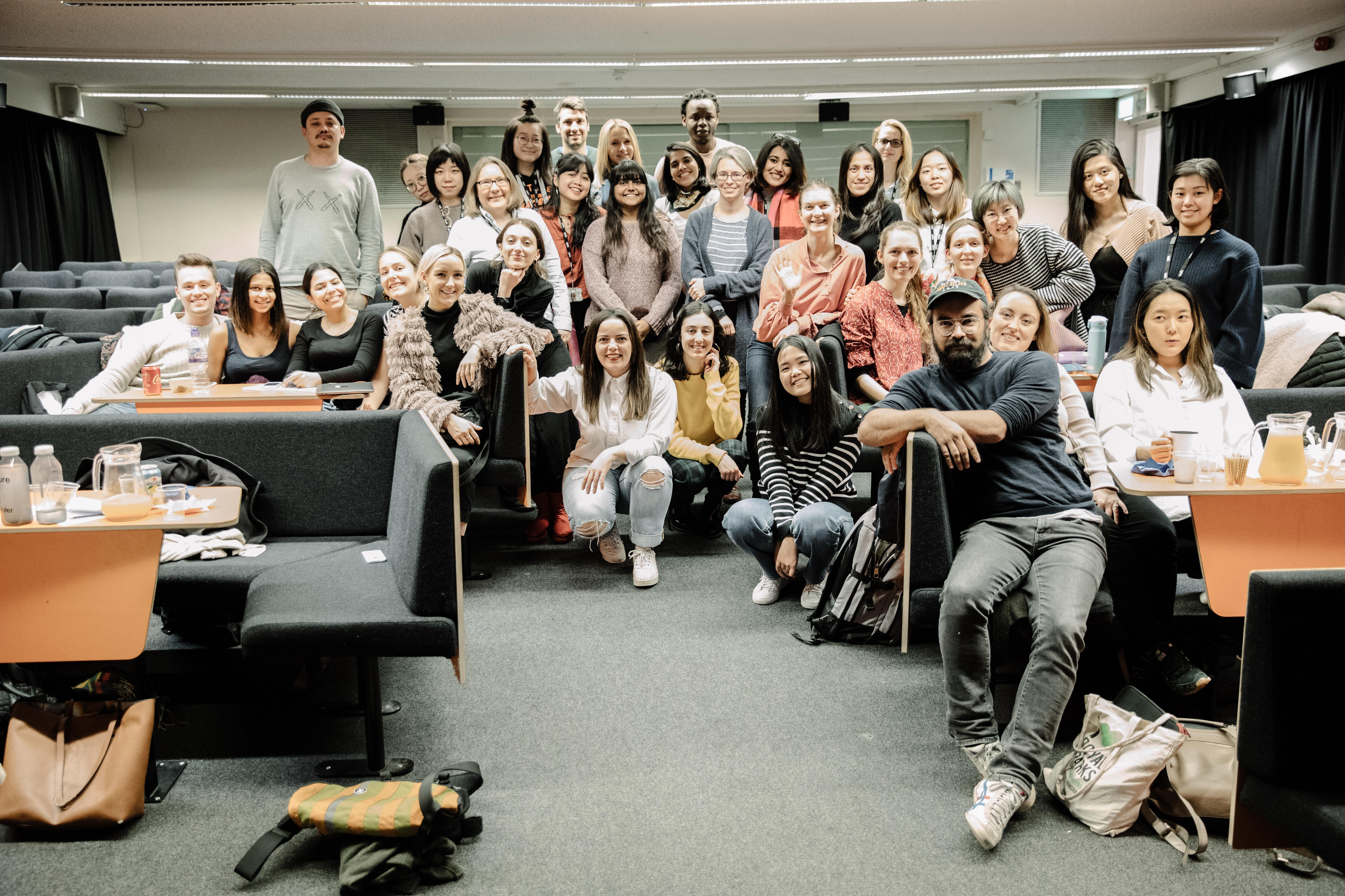 Hackathon Participants in a large group