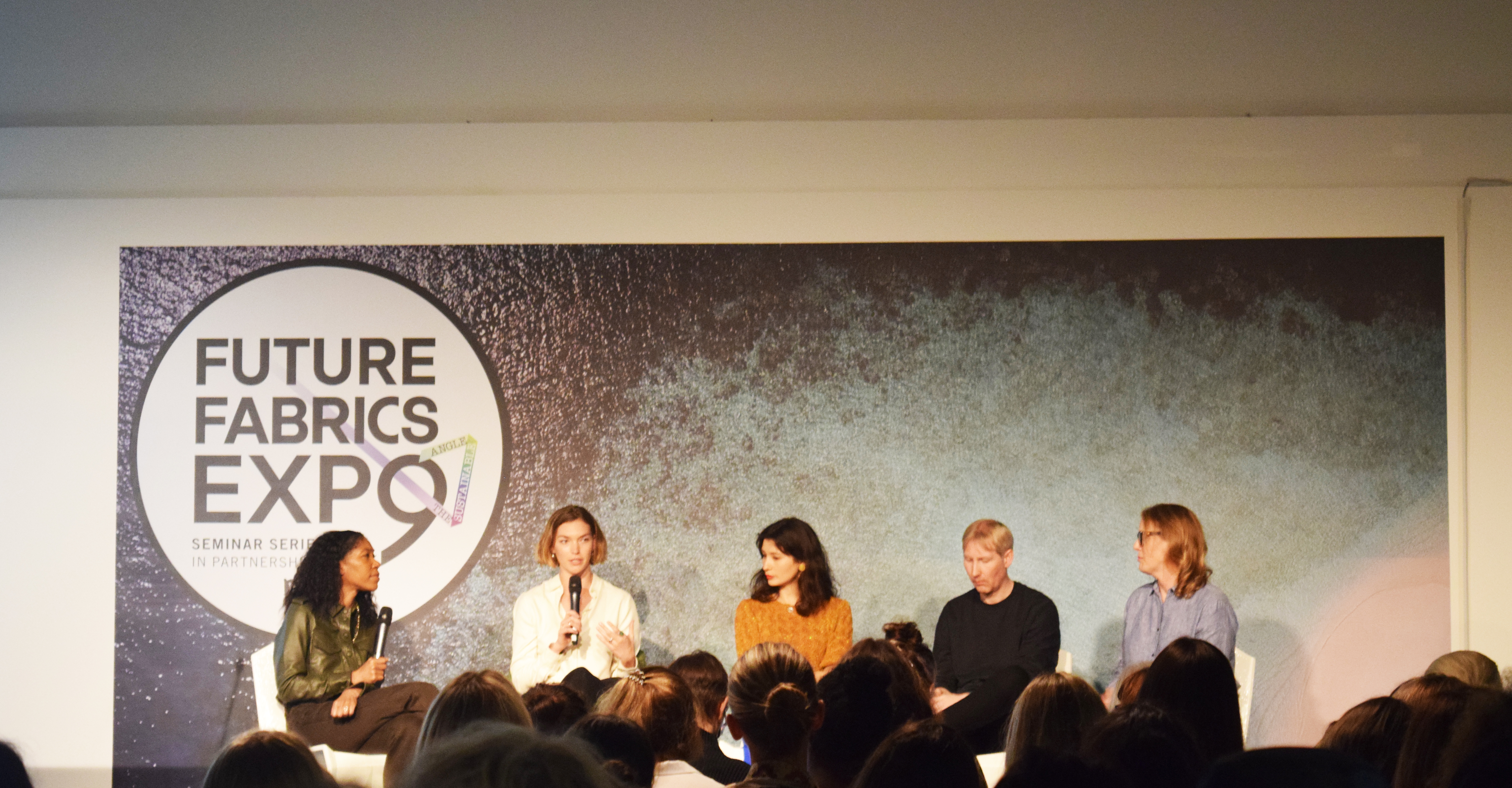 Panel talk at the Future Fabric expo Seminars