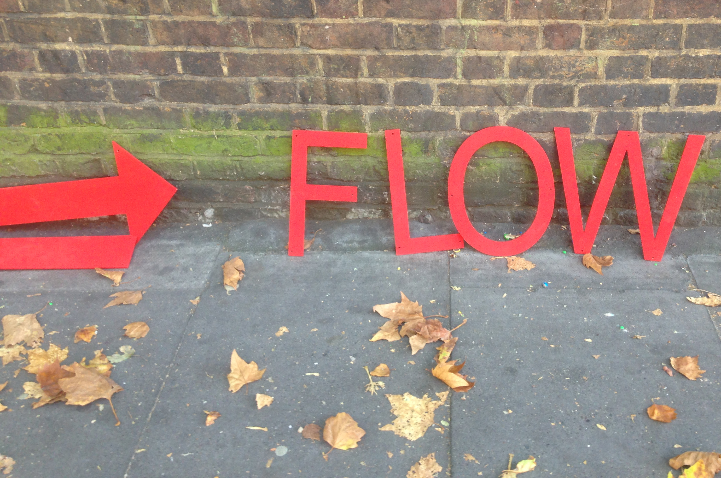 Queenie Clarke solo exhibition 'Flow'