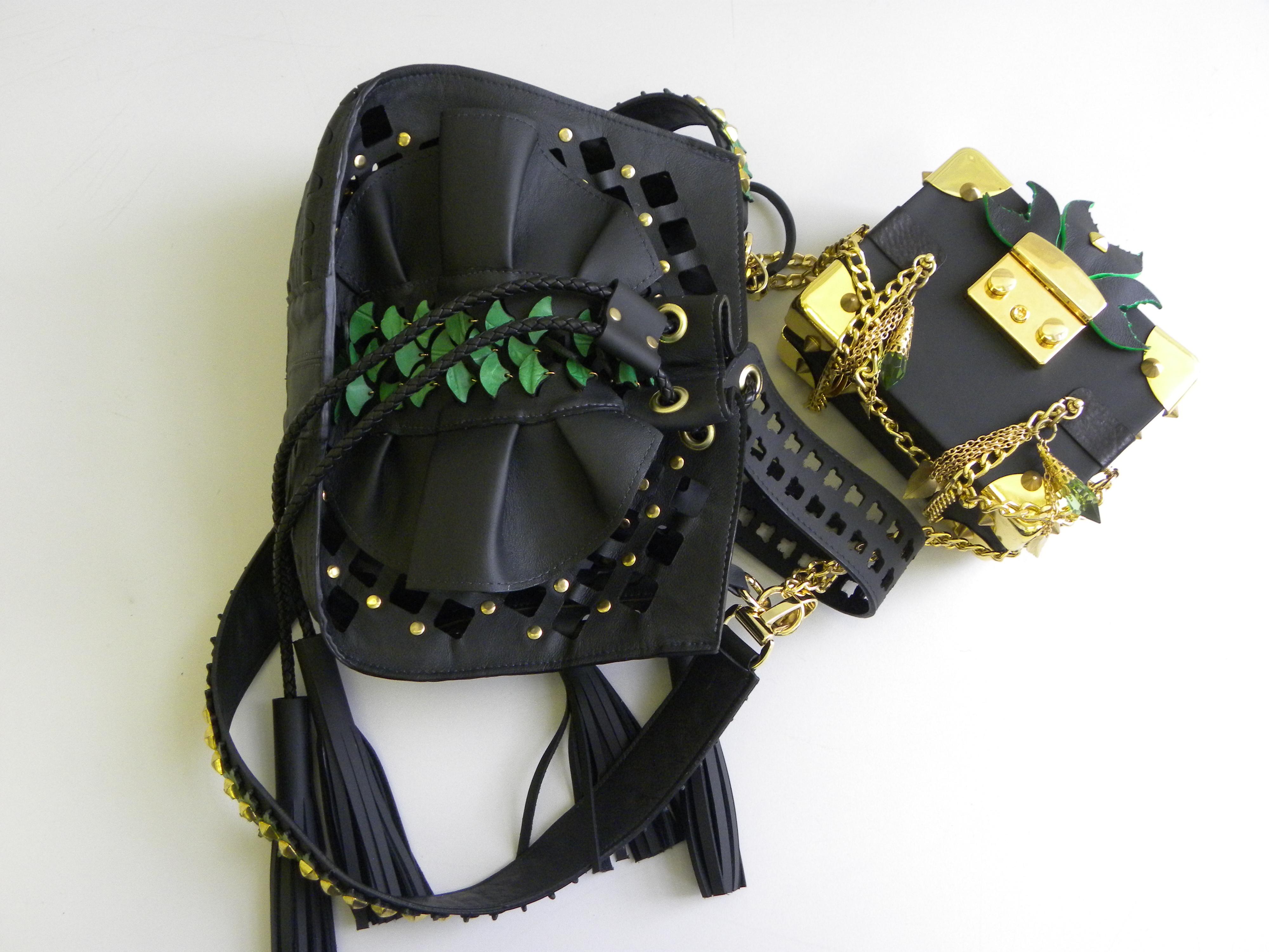 Bag design by second prize winner Zeke Zhang