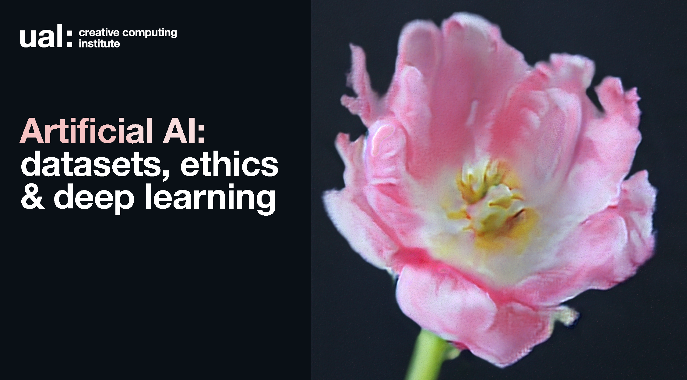 Artificial AI: datasets, ethics and deep learning