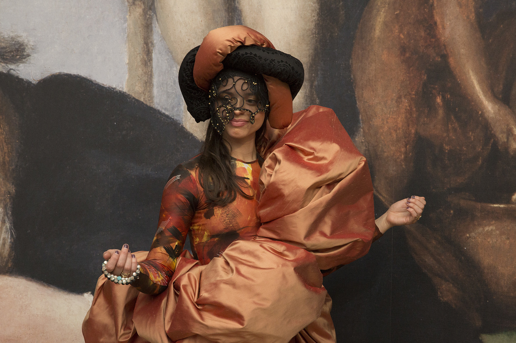 Student's costume which was part of the Lorenzo Lotto project