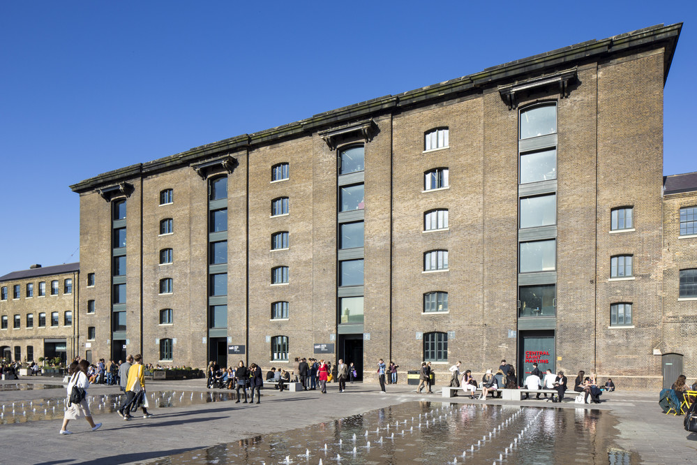 A photograph of Central Saint Martins in Kings Cross