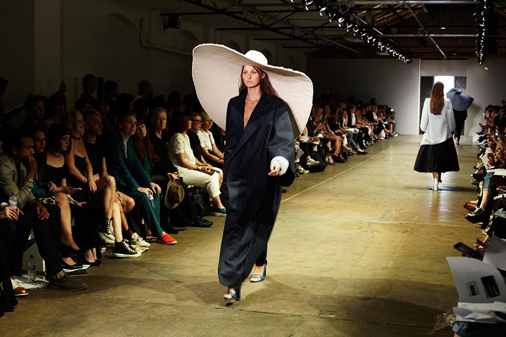 Marta Cesaro, BA (Hons) Bespoke Tailoring, and Shasha Wong, BA (Hons) Fashion Textiles: Knit