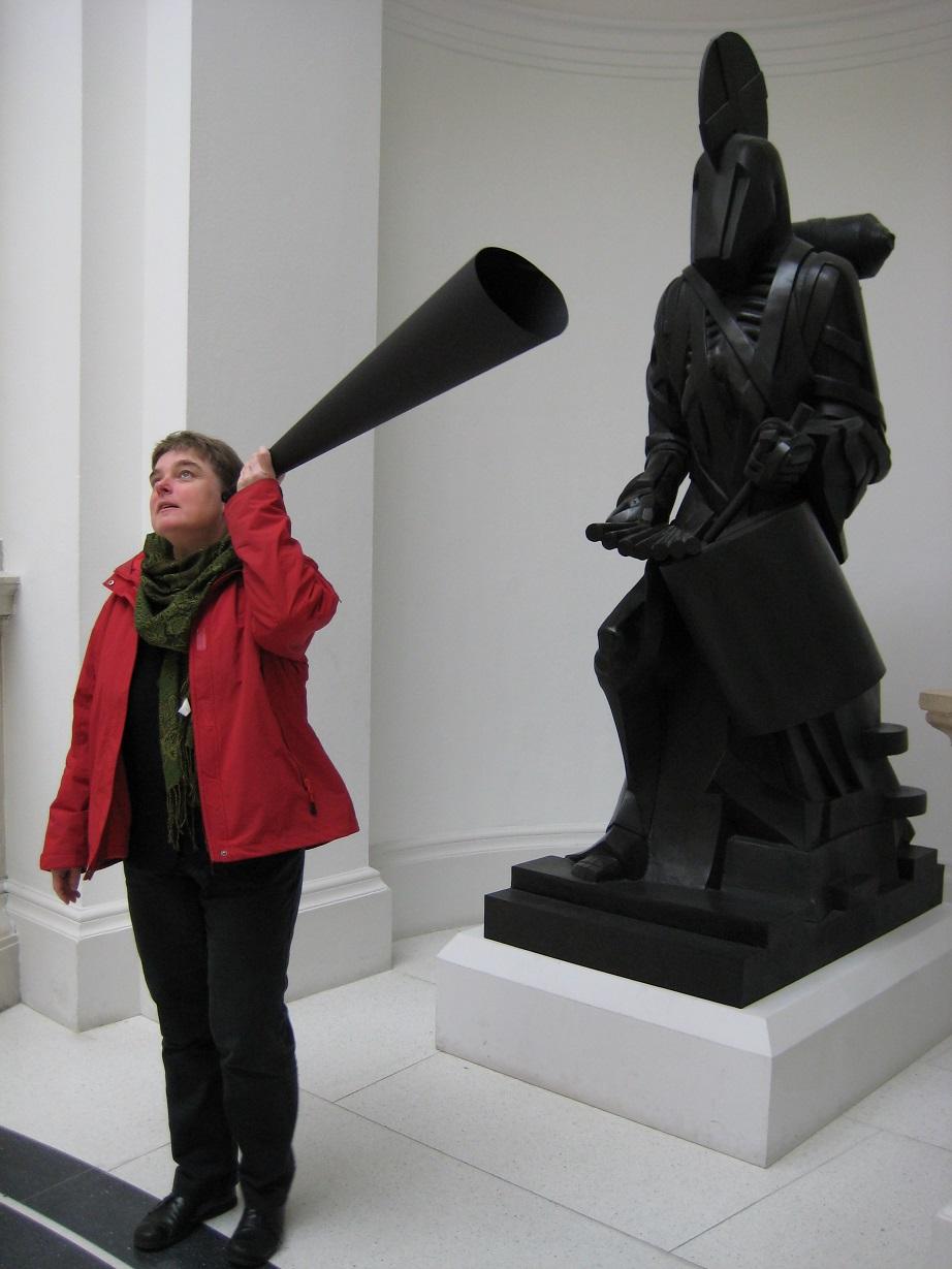listening statue resized
