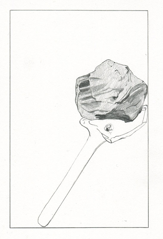 'Crack' – Drawing by Kelly Chorpening as featured in ANCHOR