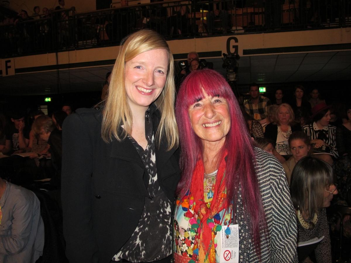 Sarah Burton and Natalie Gibson