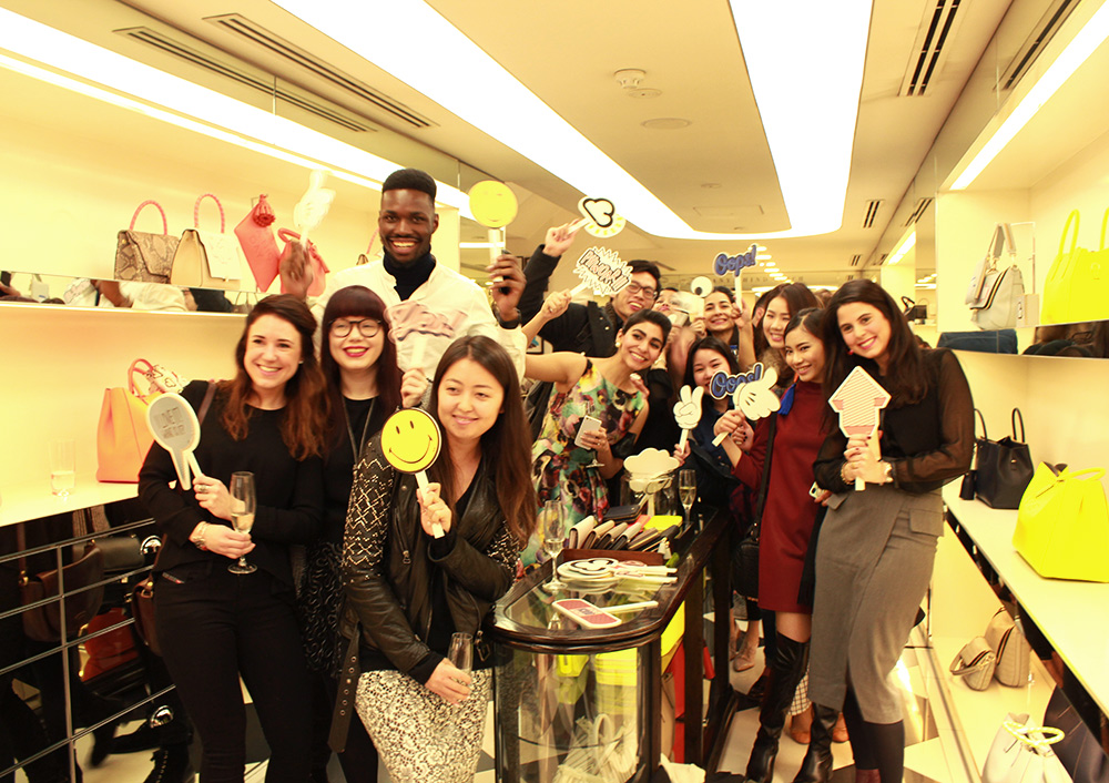 MA Fashion Retail students pay a visit to Anya Hindmarch to see the SS15 collection