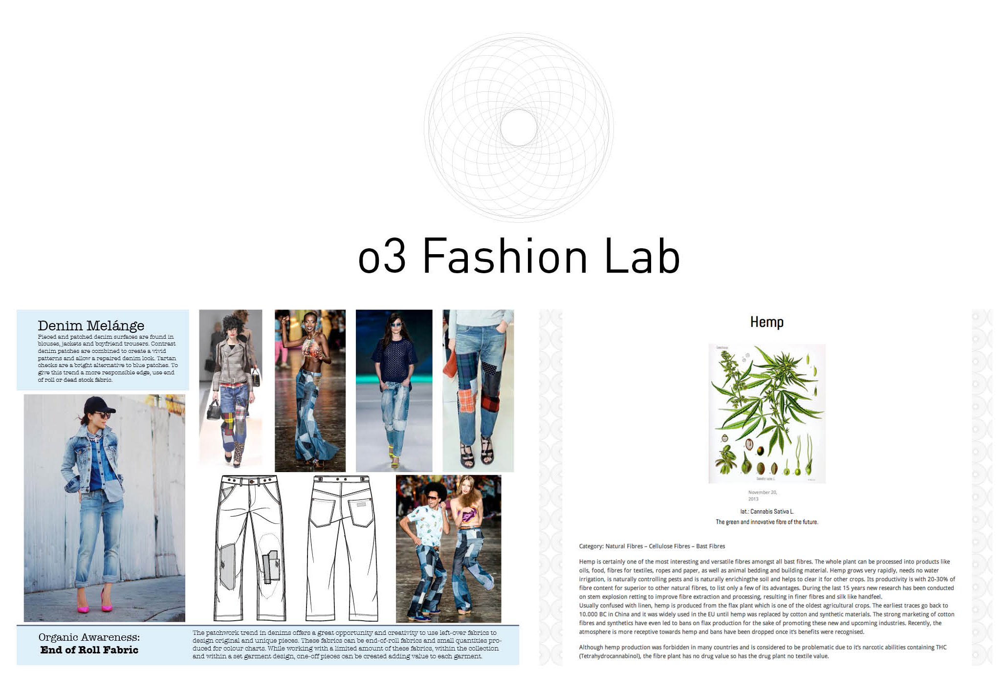 o3 Fashion Lab: Fashion Trend Forecasting – Sustainability – Conscious Sourcing by Simone Palstring