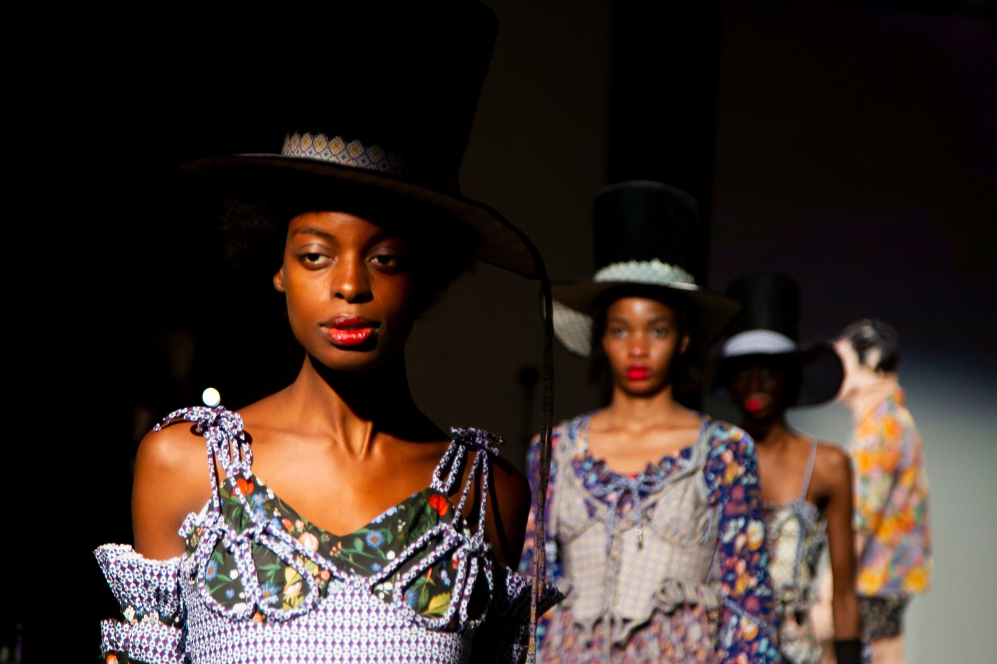 London College of Fashion UAL BA18 catwalk show Oval Space London June 2018 Photography by David Poultney In-Press Photography