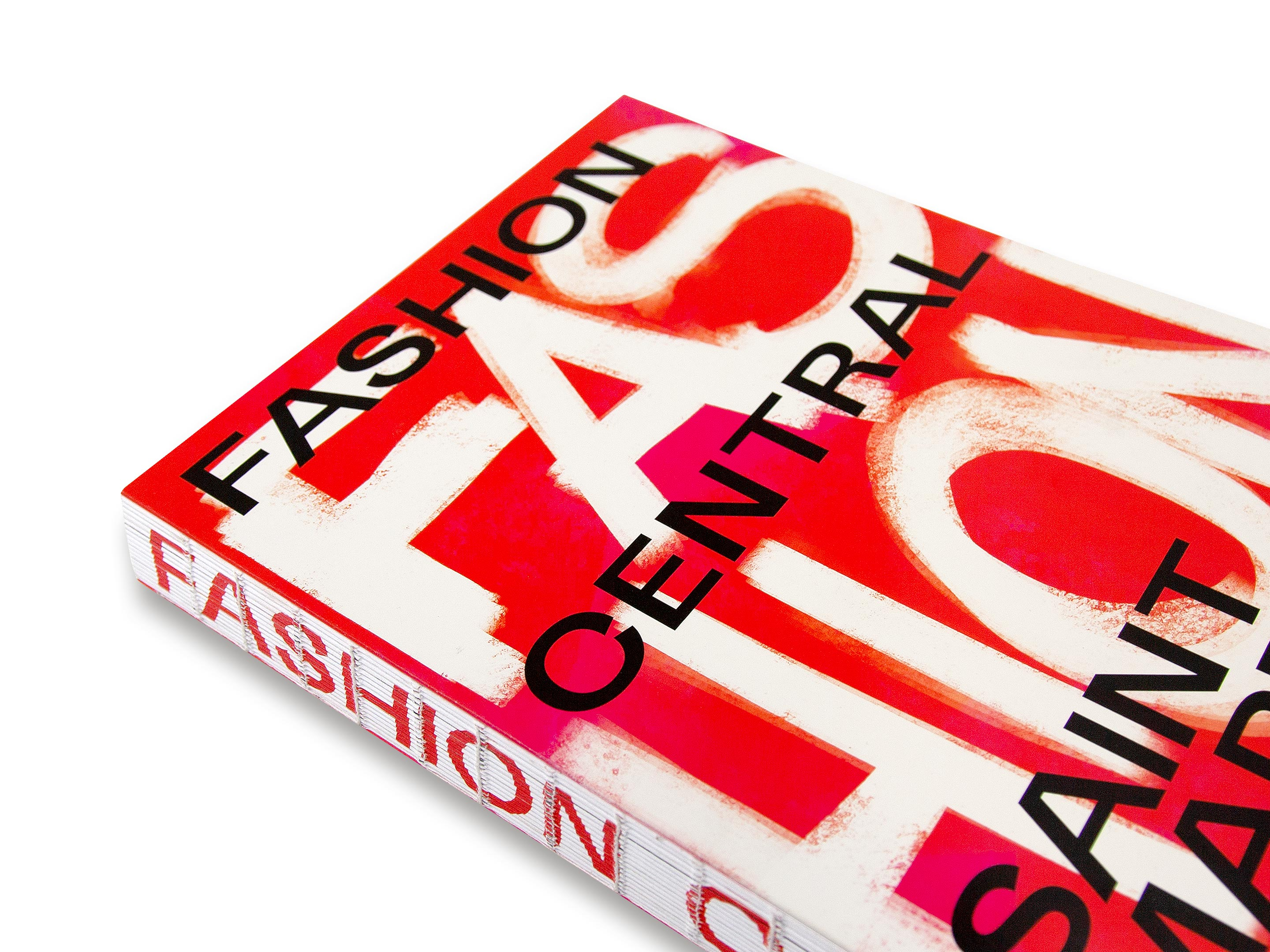 Front cover of Fashion Central Saint Martins book