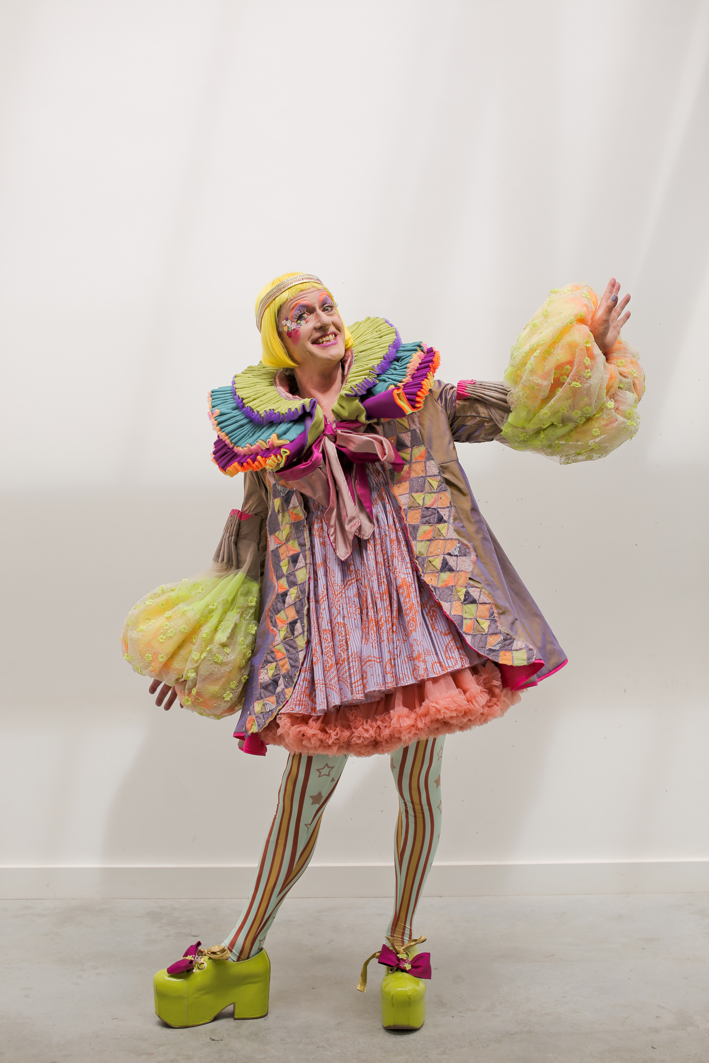 Grayson Perry wearing his 2019 robes