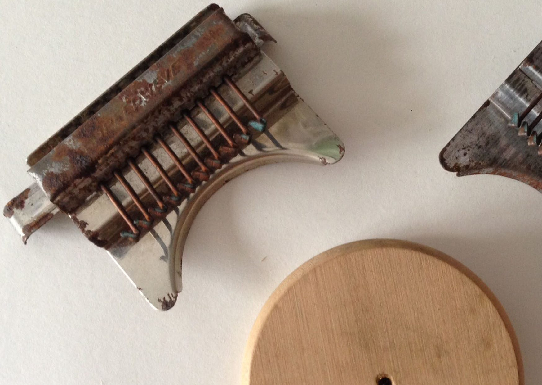 CCABridget Harvey, Speedweve Mending Tool, 2014